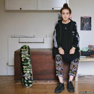 Millie, Portobello, Edinburgh, from the series Scottish Sweet Sixteen