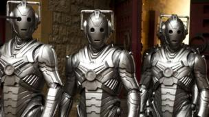 a group of Cybermen