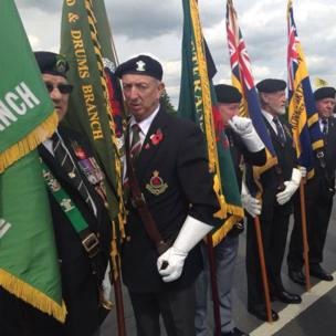 British Legion members