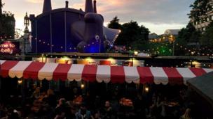 Festival venue