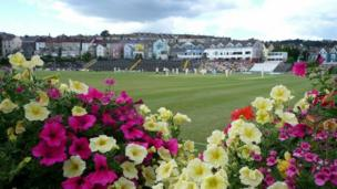 Glamorgan v Essex at St Helen's Swansea. Photo by Chris Rees.