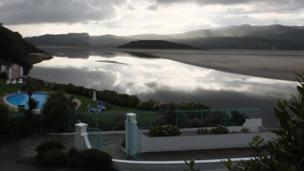 View from Portmeirion