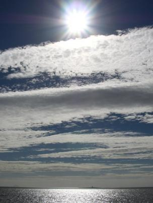Sky over Troon