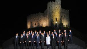 Arweinwyr Nato