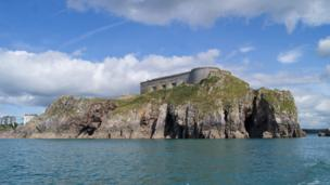 St Catherine's Fort at Tenby