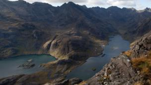 View from Sgurr na Stri