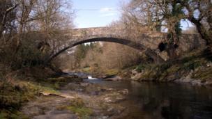 Dolauhirion Bridge, Carmarthenshire