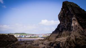 Broad Haven in Pembrokeshire,