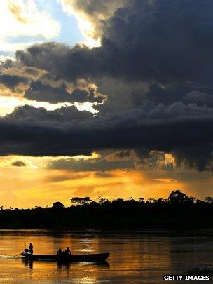 Fishing boat on the River Amazon (Getty Images)