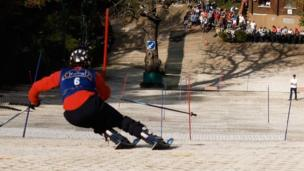 Tom Hales at Pontypool Ski Centre