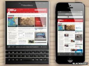 Blackberry Passport introduces dual-control keyboard - BBC News
