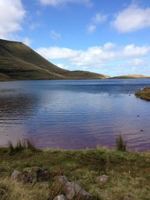 Llyn y Fan Fawr in the Brecon Beacons
