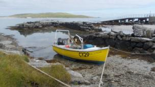 Boat on Barra