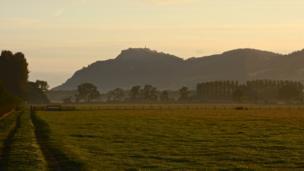 Rodney's Pillar on Breidden Hill, Powys