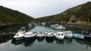 Porthclais harbour