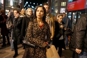 People on the streets of London