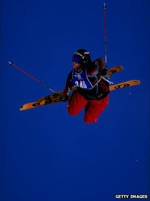 Jean-Philippe Auclair during the ESPN X- Games in Crested Butte, Colorado on 14 January 1999