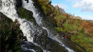 Waterfall in the Trotternish Peninsula