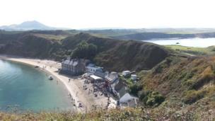 Porthdinllaen on the Llyn Peninsula