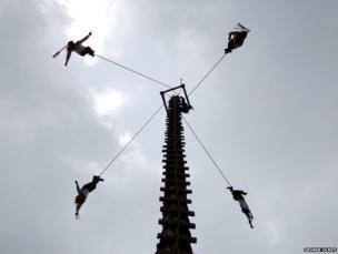 Los Voladores, Cuetzalan Mexico