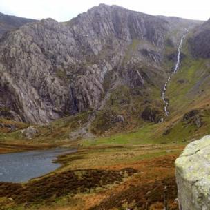 Cwm Idwal in Snowdonia.