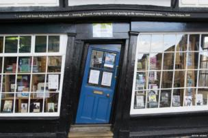 Bookshop in Canterbury