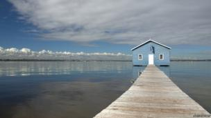 The Blue Boathouse in Perth