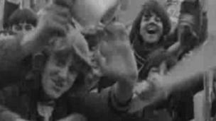 Female fans of the Beatles