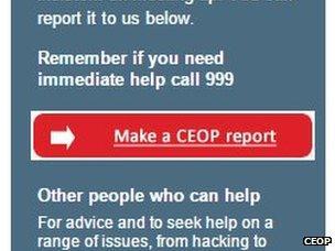 CEOP button