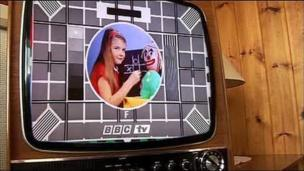 Cofio'r cerdyn profi? // Remember the Test Card?