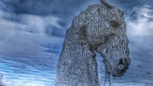 Kelpie reflection