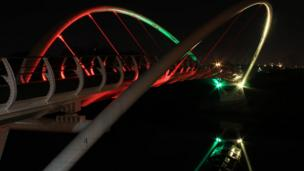 Dalmarnock bridge