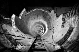 Concrete Arteries of the Amsterdam Metro