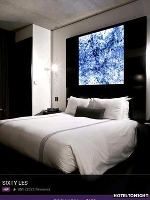 A photo from HotelTonight's app