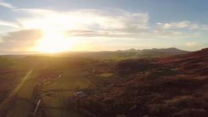 The view from Cwm Pennant, Gwynedd
