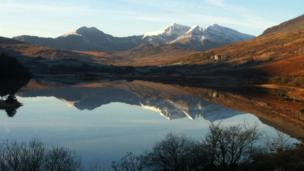 Snowdon from Llynnau Mymbyr taken by Phil Cousins. Please send your digital images using the link below (Your Pictures: Send Your Images) with details of yourself and how you came to take the image.
