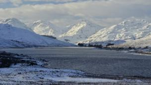 Loch Arklet and the Trossachs