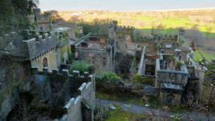 The derelict Gwrych Castle, near Abergele in Conwy, was photographed by Pete Whitehead, of Y Felinheli, Gwynedd.