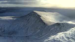 Cribyn mountain