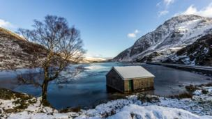 Llyn Ogwen and Tryfan in Snowdonia