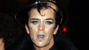 Steve Strange pictured in 2002