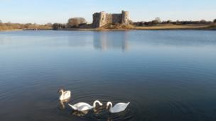 Carew Castle in Pembrokeshire by Blair Webley from St Florence