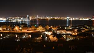 Murshed Khan, of Cardiff, captured this view overlooking Cardiff Bay and towards the city centre from Penarth, Vale of Glamorgan.