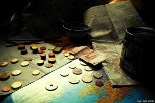 Maps and money