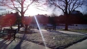 Sunshine over Leith