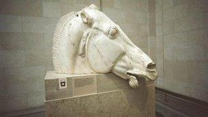 elgin marbles legal action ruled out by greece bbc news
