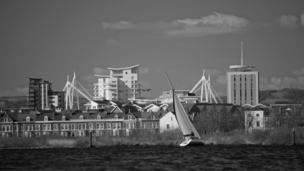 Non MacLellan, from Newport, took this picture of Cardiff Bay
