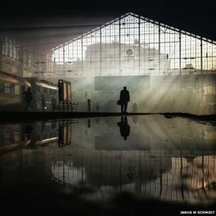 Nyugati railway station in Budapest - Mobile 2nd place - Janos M Schmidt, Hungary