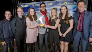 Castlebay winners of best youth film