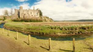 Carole Lynes took this image of Laugharne Castle